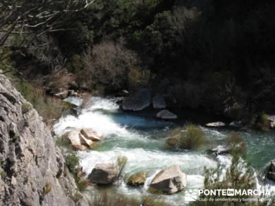 Alto Tajo - Hundido de Armallones, excursiones y senderismo; la granja de san ildefonso